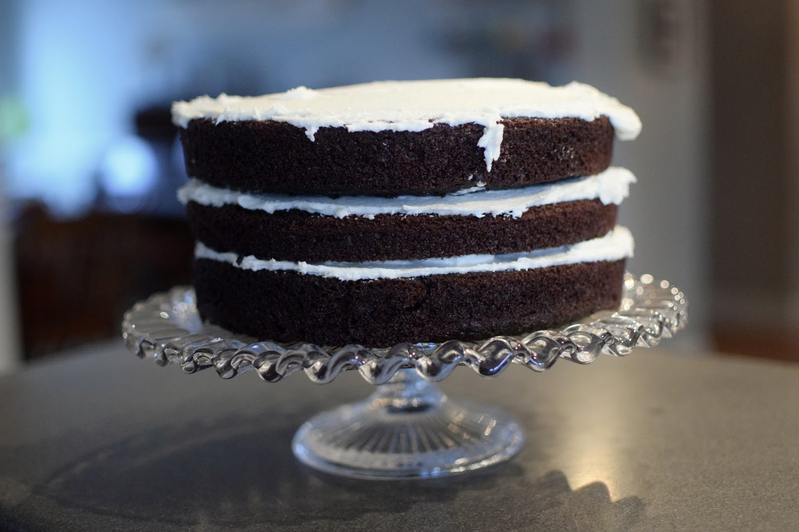Celebrating MLK Day (Chocolate Cake with Buttercream Frosting ...
