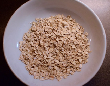 1/2 cup old fashioned oats